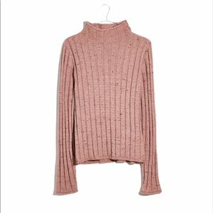 Madewell Donegal Ribbed Turtleneck Sweater